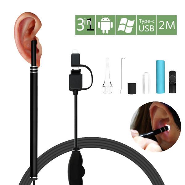 속이 훤한 혼자하는 귀청소 내시경 LED 귀이개 귀지청소