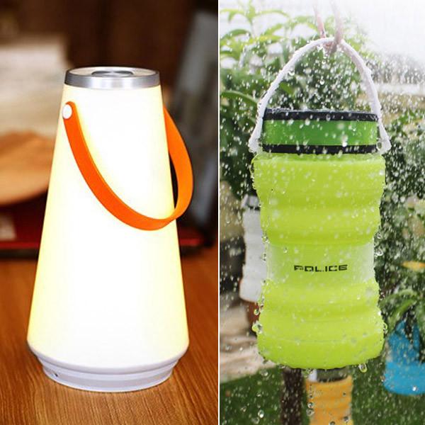 휴대용 충전식 감성 조명 캠핑랜턴 캠핑조명 충전식 LED 무드등 IAQ