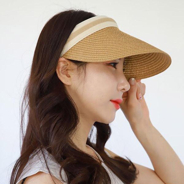 여성 라틴 썬캡 여름썬캡 헤어스타일 보호 썬캡 AGG
