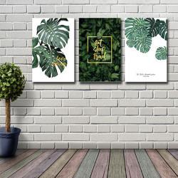거실 인테리어 액자 그림 식물 캔버스 프레임 SJ